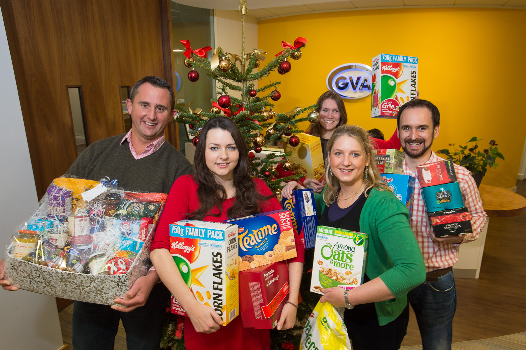 Staff Dig Deep for Caring at Christmas